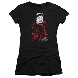 Army Of Darkness - Juniors Pile Of Baddies Premium Bella T-Shirt