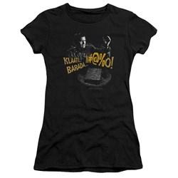 Army Of Darkness - Juniors Klaatu...Barada Premium Bella T-Shirt
