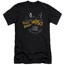 Army Of Darkness - Mens Klaatu...Barada Premium Slim Fit T-Shirt
