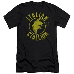 Rocky - Mens Italian Stallion Horse Premium Slim Fit T-Shirt