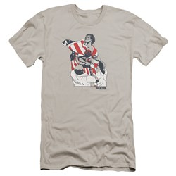 Rocky - Mens Graphic Flag Premium Slim Fit T-Shirt