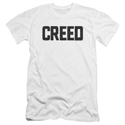 Creed - Mens Cracked Logo Premium Slim Fit T-Shirt