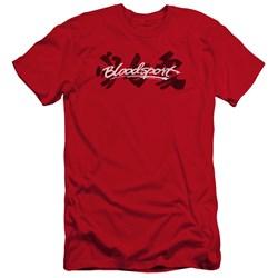 Bloodsport - Mens Kanji Premium Slim Fit T-Shirt
