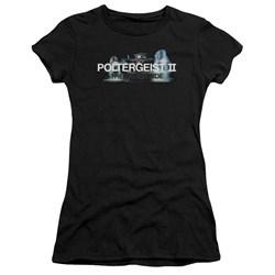 Poltergeist Ii - Juniors Logo Premium Bella T-Shirt