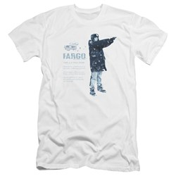 Fargo - Mens This Is A True Story Premium Slim Fit T-Shirt