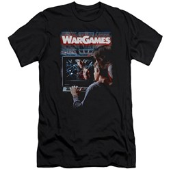 Wargames - Mens Poster Premium Slim Fit T-Shirt