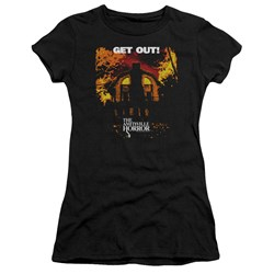 Amityville Horror - Juniors Get Out Premium Bella T-Shirt