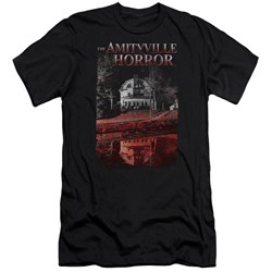 Amityville Horror - Mens Cold Blood Premium Slim Fit T-Shirt