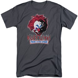Killer Klowns From Outer Space - Mens Rough Clown Tall T-Shirt