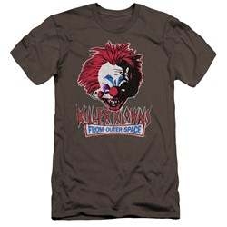Killer Klowns From Outer Space - Mens Rough Clown Premium Slim Fit T-Shirt