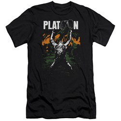 Platoon - Mens Graphic Premium Slim Fit T-Shirt