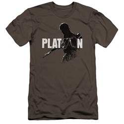 Platoon - Mens Shadow Of War Premium Slim Fit T-Shirt