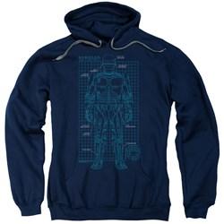 Robocop - Mens Schematic Pullover Hoodie