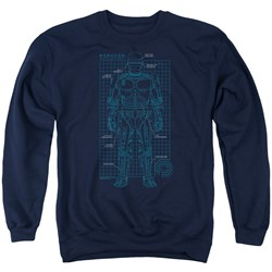 Robocop - Mens Schematic Sweater