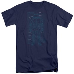 Robocop - Mens Schematic Tall T-Shirt