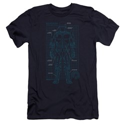 Robocop - Mens Schematic Premium Slim Fit T-Shirt