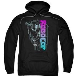 Robocop - Mens Robo Neon Pullover Hoodie