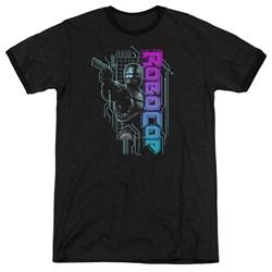Robocop - Mens Robo Neon Ringer T-Shirt