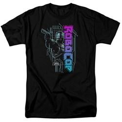 Robocop - Mens Robo Neon T-Shirt