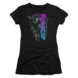 Robocop - Juniors Robo Neon T-Shirt