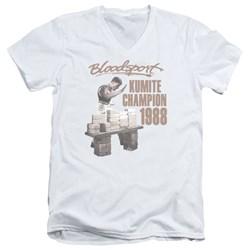 Bloodsport - Mens Dux Smash V-Neck T-Shirt
