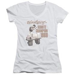 Bloodsport - Juniors Dux Smash V-Neck T-Shirt
