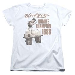 Bloodsport - Womens Dux Smash T-Shirt