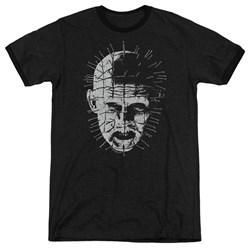 Hellraiser - Mens Pinhead Ringer T-Shirt