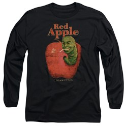 Pulp Fiction - Mens Red Apple Long Sleeve T-Shirt
