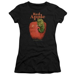 Pulp Fiction - Juniors Red Apple T-Shirt