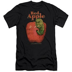 Pulp Fiction - Mens Red Apple Premium Slim Fit T-Shirt