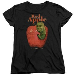 Pulp Fiction - Womens Red Apple T-Shirt