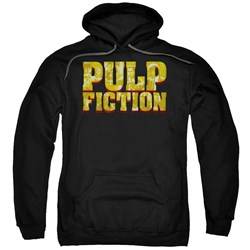 Pulp Fiction - Mens Pulp Logo Pullover Hoodie