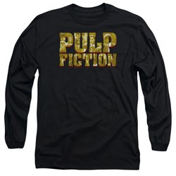 Pulp Fiction - Mens Pulp Logo Long Sleeve T-Shirt