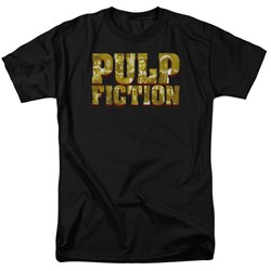 Pulp Fiction - Mens Pulp Logo T-Shirt