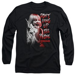 Scream - Mens Dont Hang Up Long Sleeve T-Shirt
