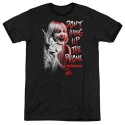 Scream - Mens Dont Hang Up Ringer T-Shirt