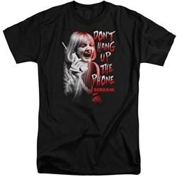 Scream - Mens Dont Hang Up Tall T-Shirt
