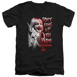 Scream - Mens Dont Hang Up V-Neck T-Shirt