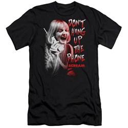 Scream - Mens Dont Hang Up Premium Slim Fit T-Shirt