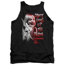 Scream - Mens Dont Hang Up Tank Top