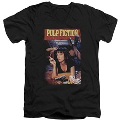 Pulp Fiction - Mens Poster V-Neck T-Shirt