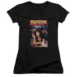 Pulp Fiction - Juniors Poster V-Neck T-Shirt