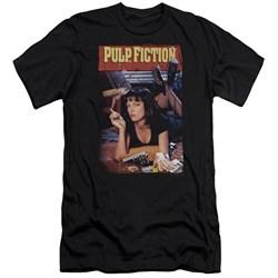 Pulp Fiction - Mens Poster Premium Slim Fit T-Shirt