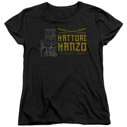 Kill Bill - Womens Hanzo Swords T-Shirt