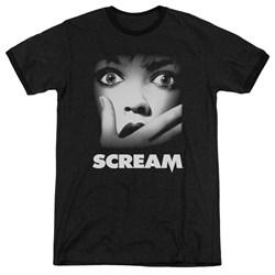 Scream - Mens Poster Ringer T-Shirt