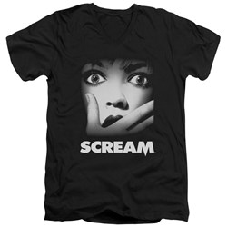 Scream - Mens Poster V-Neck T-Shirt