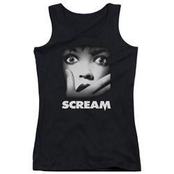 Scream - Juniors Poster Tank Top