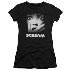 Scream - Juniors Poster Premium Bella T-Shirt