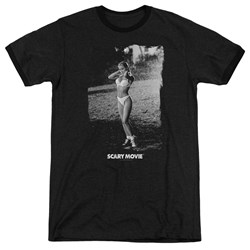 Scary Movie - Mens Help Me Ringer T-Shirt
